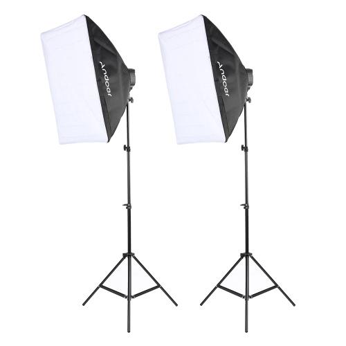 Kit d'éclairage photo Andoer Studio