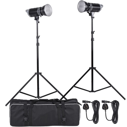 5600K 100W Emplacement du studio Bowens Mont LED Fill-in Kit Lampe avec support Light + Lamp Shade + sac de transport