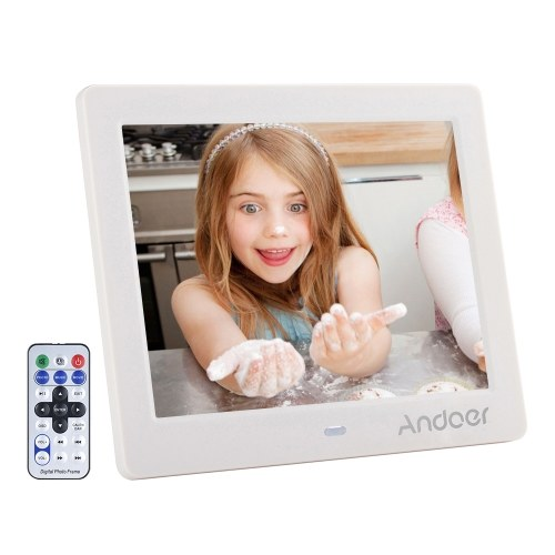 "Andoer 8 ""LCD Wide Screen Digital Picture Picture Frame Album"