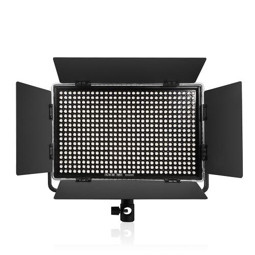 Viltrox VL-40T Professional Ультратонкая светодиодная видеосъемка Светодиодная заливочная лампа 3300K ~ 5600K Регулируемая двойная цветовая температура Регулируемая яркость Макс. 3950 люмен