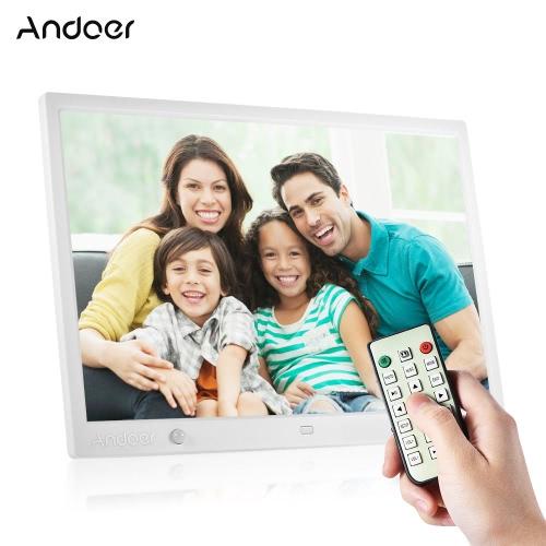 Andoer 15 Inch Duża Ekran LED Digital Photo Frame Desktop