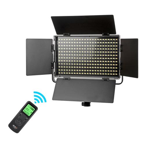 Panel de luz de video bicolor 276 LED Villox VL-S50T