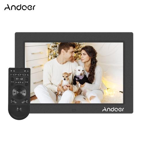 Andoer 10-calowa rozdzielczość cyfrowa 1200 * 800 Digital Photo Frame