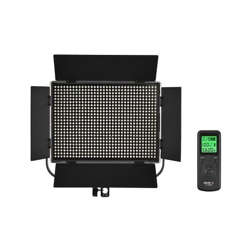 Viltrox VL-D60T Professional Slim 3300K-5600K Bi-Color Dimmable LED Video Light