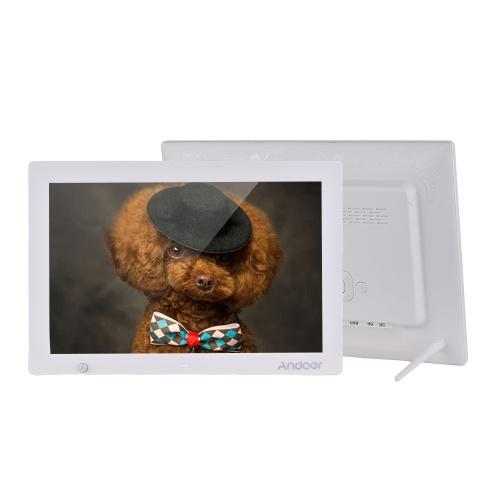 Andoer 13,3 polegadas 1280 * 800 HD Digital Photo Frame Álbum de Imagem Eletrônico