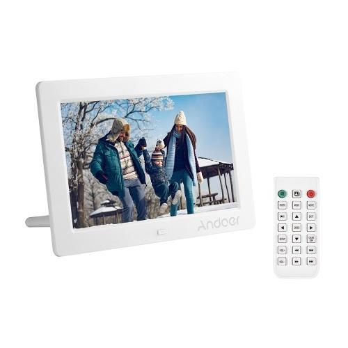 Andoer 8 Inches IPS LED Digital Photo Frame