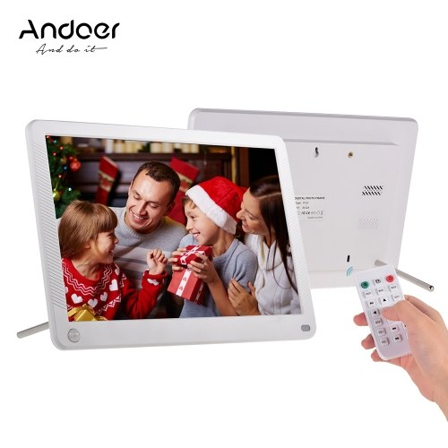 Cadre photo numérique LED Andoer P101 10 pouces