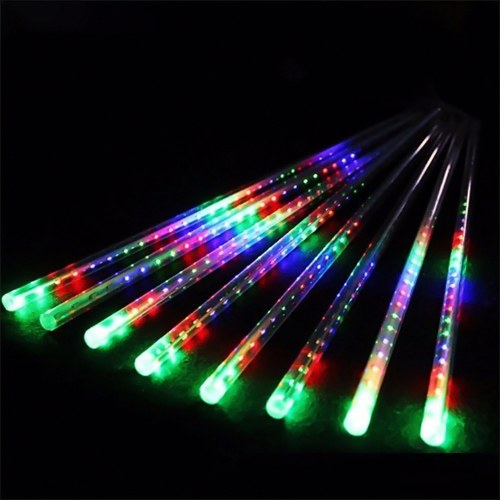30CM LED Meteor Shower Lights Falling String Lights Waterproof Xmas Decoration Light Icicle Snow Raindrop Outdoor Lamp