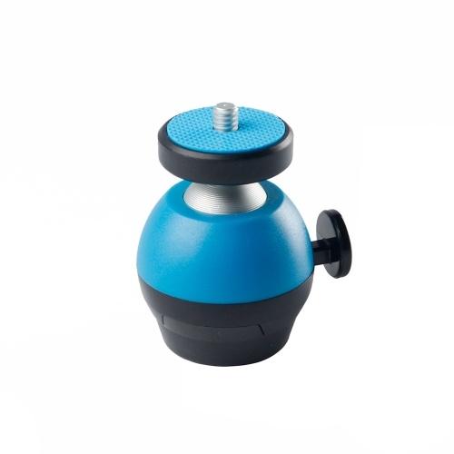 Mini Ball Head Camera Tripod Mount CNC Technology 360° Swivel