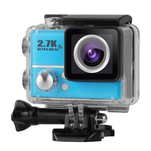 2,0 calowy LCD 2,7K 30FPS 45M wodoodporny Ultra-HD 1080P 60FPS 14-megapikselowy aparat fotograficzny z FPV 170 ° obiektyw szerokokątny