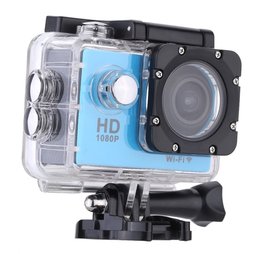 W9B 1080P 30FPS Max 12MP Wifi Waterproof 30M Shockproof 170°Wide Angle 2.0
