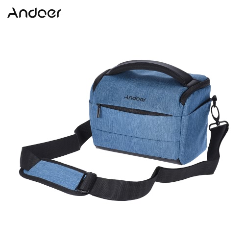 Andoer Cuboid w kształcie przenośnego mody Polyester Case kamery