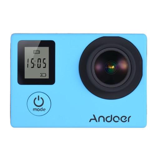 Andoer 4K 30 fps / 1080p 60fps Full HD 16MP da ação da câmera à prova d'água 30m WiFi 2.0