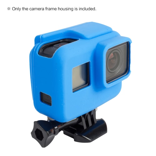 Soft Silicon Frame Housing Rubber Bracket Case Protective Shell Cover Skin Wrap Protector for GoPro Hero 5 Sports Action Camera Frame