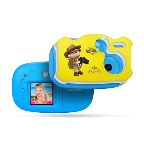 Amkov Mini Kids Digital Video Camera Gift for Children Boys Girls