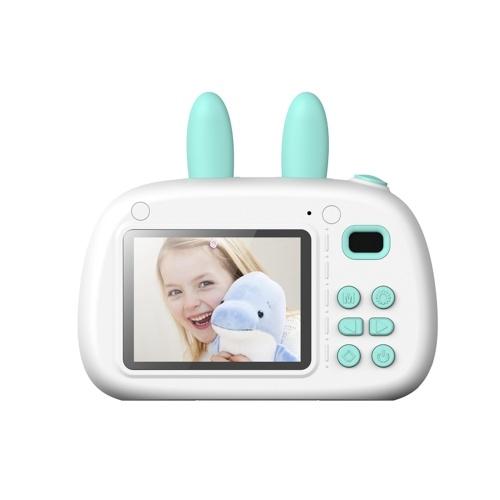Fotocamera portatile per bambini con schermo di grandi dimensioni con modalità di messa a fuoco intelligente