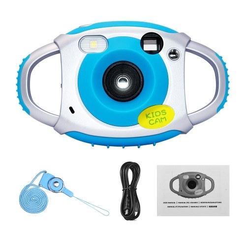 Kinder Digitalkamera 8MP Foto 1080P Video 2,0 Zoll IPS-Bildschirm Eingebauter Lithium-Akku