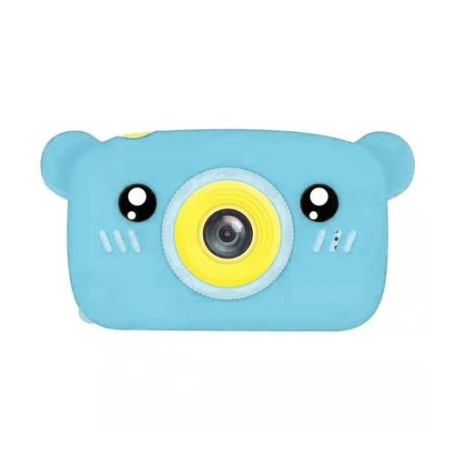 1080P / 30FPS Mini Kids Camera 2.0 pollici Schermo di visualizzazione IPS grande Fotocamera con aspetto animale simpatico cartone animato con per bambini Ragazzi Ragazze