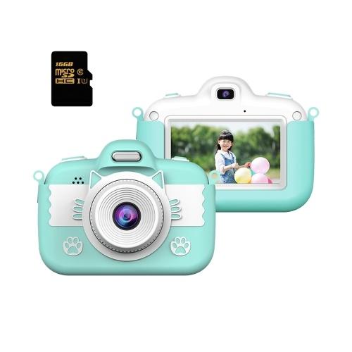 Videocamera digitale per bambini Videocamera per selfie per bambini piccola ricaricabile