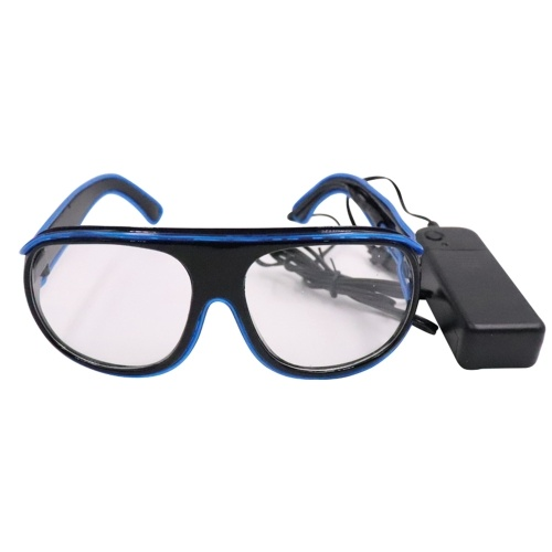 YJ008 LED Brille 10 Farben Optionales Licht