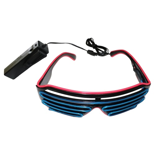YJ006 Voice-control LED Glasses 15 Colors Optional Light