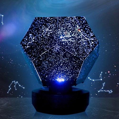 Baby Star Lampada Proiettore Cosmic Galaxy Fun Star Sky Proiettore Star Light Bambino Sonno USB Luce notturna alimentata