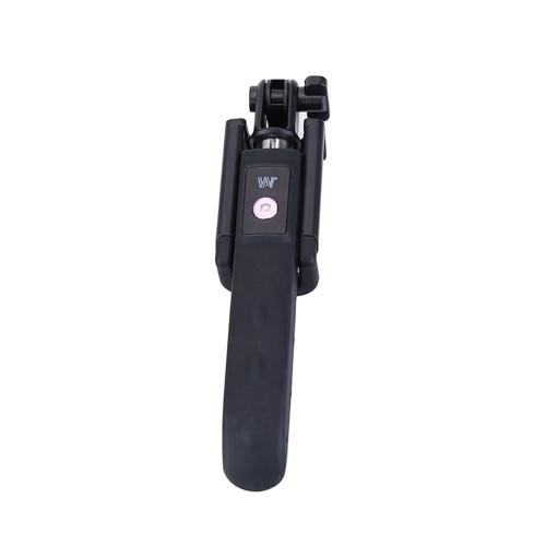 Dispho Wysuwane składane teleskopowe Portable BT Wireless Fotografowanie ze zdalnym sterowaniem migawki ręczny obrotowy selfie samowyzwalacza Polak monopod kij dla smartfonów iPhone Samsung