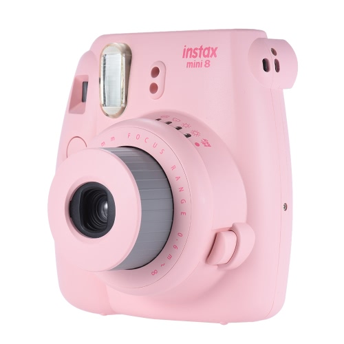 Fujifilm Instax Mini 8 Camera Film Photo Instant Cam Pop-up Lens Auto Metering