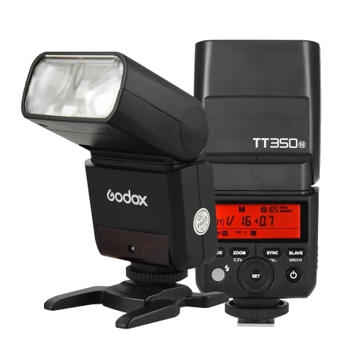 Godox Thinklite TT350N Mini 2.4G Wireless TTL Camera Flash Master & Slave Speedlite