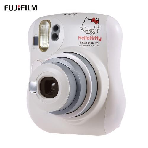 Fujifilm Instax Mini 25 Kamera błyskawiczna wbudowana Automatyczna lustro Podwójne migawki Automatyczne wyświetlanie obiektywu z obiektywem zbliżeniowym
