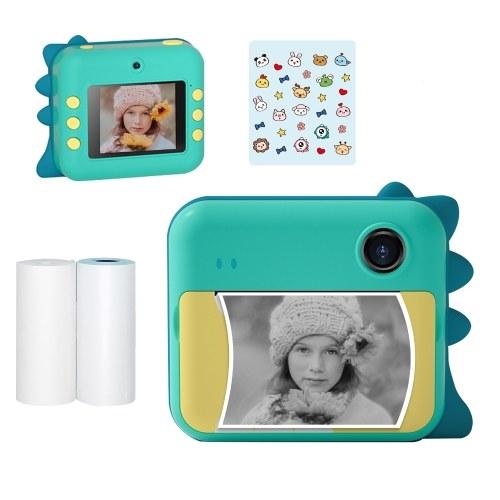 P1 Kids Camera 32 Go Imprimante photo instantanée pour enfants