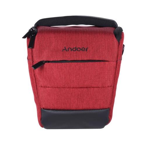 Andoer Camera Case Bag Sleek Polyester DSLR Portable épaule de caméra pour 1 Camera 1 Lens et Petits Accessoires pour Canon Nikon Sony Fujifilm Olympus Panasonic