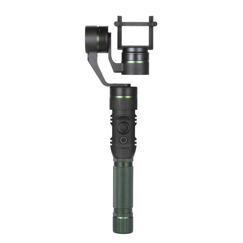 hohem HG3 3 Axis Handheld Stabilizacja Gimbal działania aparatu stabilizator 3-osiowy 360 Stopni pokryciu 5-kierunkowy joystick sterowania dla GoPro Hero3 / 4 dla Xiaomi Yi i podobne Demension Kamery sportowe