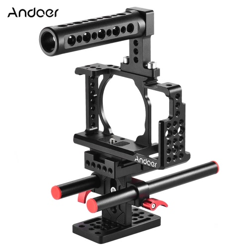 Andoer Protective Video Camera Cage Kit