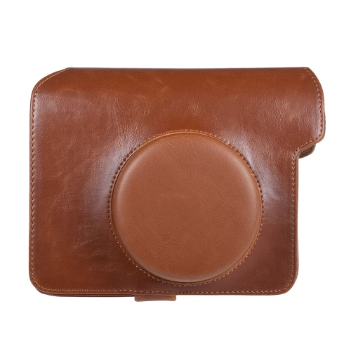 Vintage PU Protective Camera Case Bag