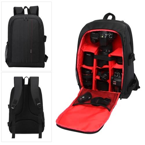 HUWANG Large Padded Camera Bag