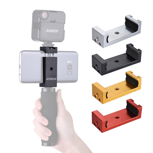 andoer phone tripod mount adapter bracket holder clip