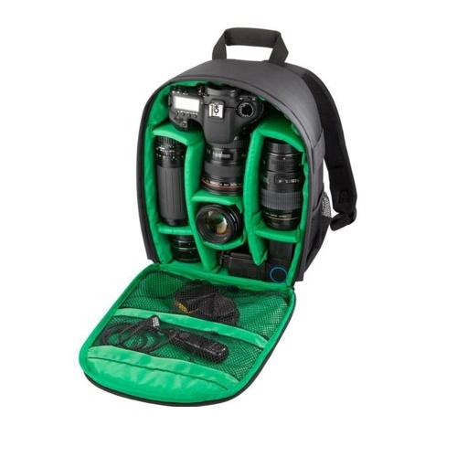 Kameratasche Wasserdicht DSLR Rucksack 13 x 10,4 x 4,9 Zoll Größe