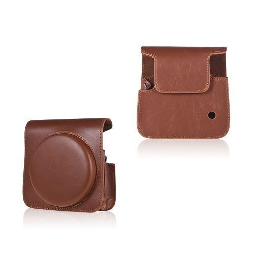 Andoer Protective Case PU Leather Bag with Adjustable Strap