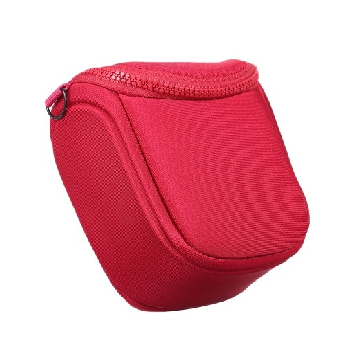 Water-resistant Universal Size Photograph Camera Bags Zippered Cases Small Shoulder Pouch for SLR Single Lens Reflex Camera Adjustable Shoulder Belts