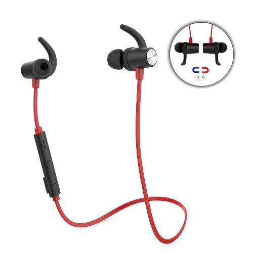 Dodocool Magnetic Wireless Stereo Sports In-Ear Headphone com HD Mic CVC 6.0