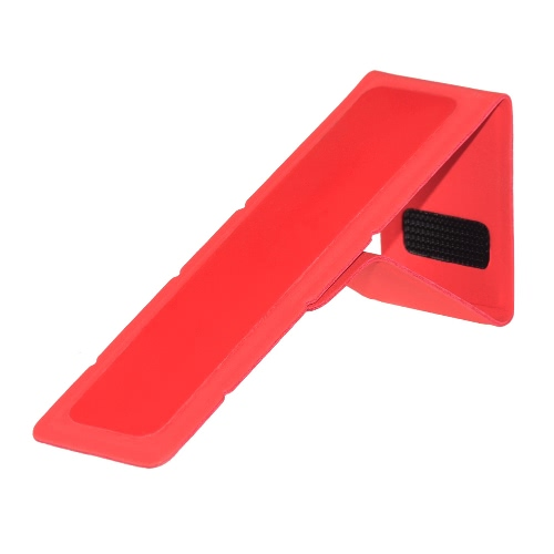 dodocool 2 in 1 Pack Portable Universal Adjustable Folding Adhesive Stand for MacBook Laptop Notebook Red