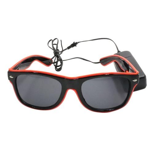 Светодиодные очки 10 цветов дополнительный свет фото