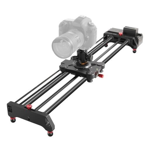 GVM Slider-80 Curseur de piste de caméra motorisé 80CM / 31,5 pouces