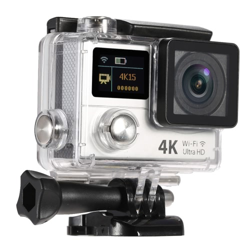 Waterproof 2 Inch Dual Screen LCD Ultra HD Wifi Sports Action 4K Camera
