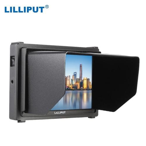 LILLIPUT Q7 7 pouces Full HD caméra 2K vidéo moniteur 1920 * 1200 IPS résolution écran SDI & HDMI Cross Conversion pour Canon Nikon A7R A7S A7RII DSLR caméra caméscope