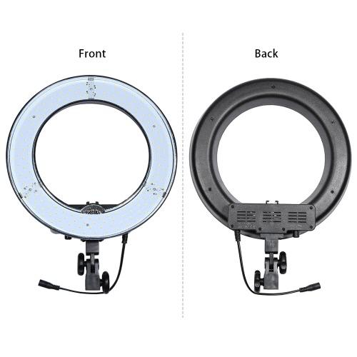 RL-12 180pcs Pierścień LED Panel Koraliki Lampy Światła CRI 83+ Kolor Temperatura 5500K Studio Outdoor Video Camera Fotografia Kit Oświetleniowa