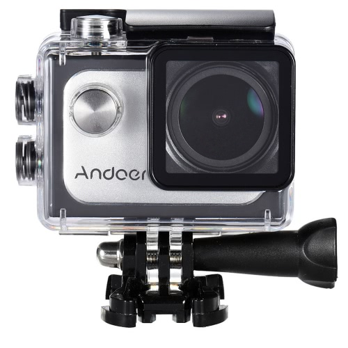 Andoer 4K 30FPS 1080P Full HD 60fps DV 16M 2.0in LTPS Wifi ekran LCD Wodoodporna 173 ° szerokokątny Outdoor Sports Action Camera Kamera cyfrowa Cam Video Car DVR