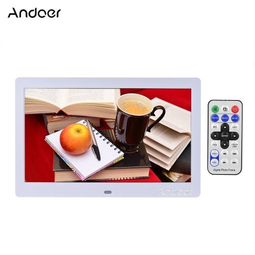 """Andoer 10 """"HD grand écran LCD cadre photo numérique"""