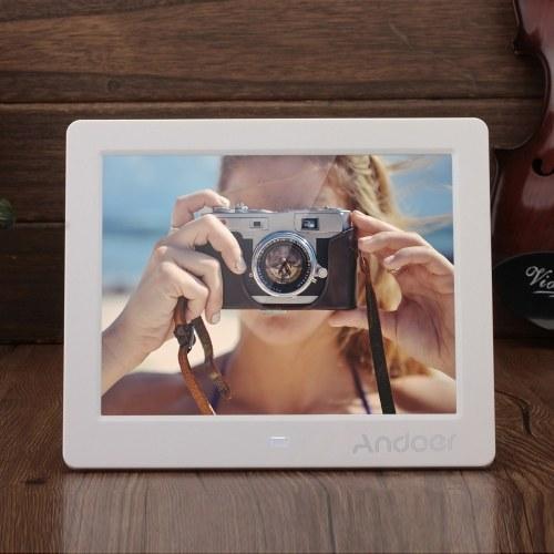 """Andoer 8 """"HD Wide Screen Moldura de foto digital de alta resolução"""